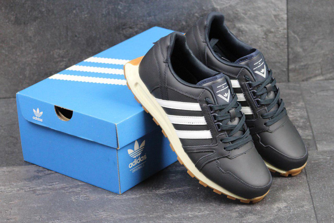 Кроссовки мужские Adidas Neo (синие), ТОП-реплика