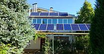 Автономная солнечная электростанция для питания котельной и насоса мощностью 1,9 кВт с. Матвеевка