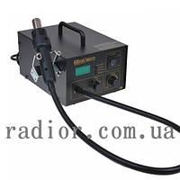 Термовоздушный фен - паяльная станция HandsKit 850D (фен с дисплеем) (13-0162)