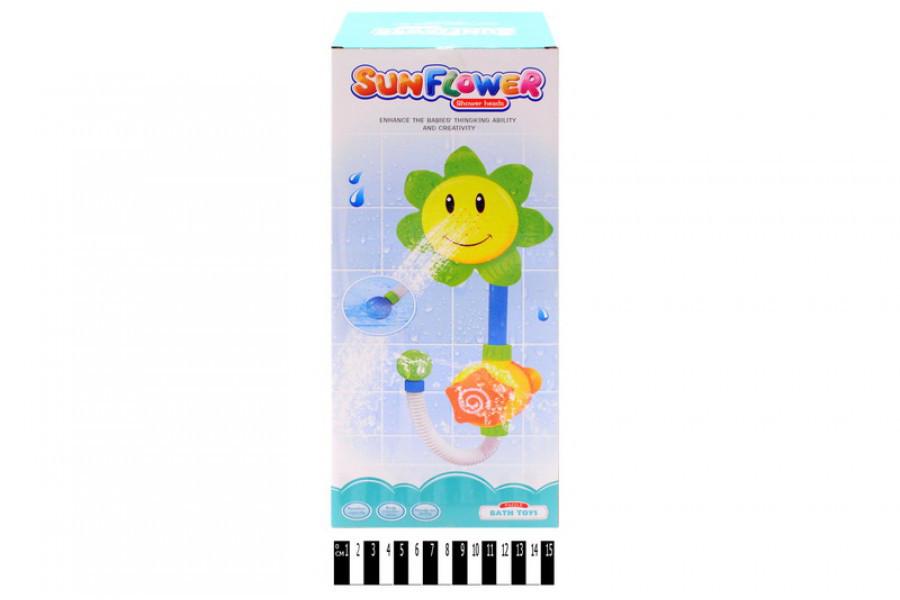 """Набор для ванной игрушечный водопад """"Подсолнух"""", игрушка для купания 9904"""