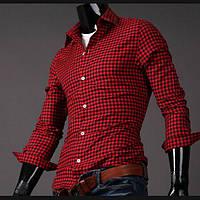 Рубашка в клетку (Slim Fit), фото 1