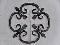 Розет декоративный кованный 290*290 мм квадрат 10*10 мм декор, фото 1