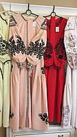 Сукні жіночі дизайнерські на домотканому полотні