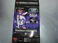 Видеокарта Radeon HD6670 на запчасти