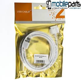 Кабель USB Griffin Iphone 4S 2 Metrs (Белый)