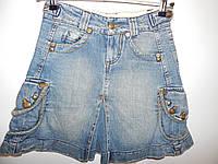 Юбка джинсовая подростковая 40-42р. 014юж
