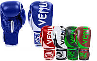 Перчатки боксерские на липучке Vemun Challenger 5245: 10-12 унций, кожа