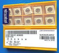 CCMT120412 UE6020 MITSUBISHI пластины твердосплавные сменные