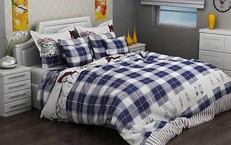 Полуторный комплект постельного белья 145х215 из бязи Голд Леди (1.0)