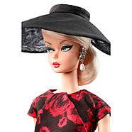 Колекційна лялька Барбі Силкстоун / Barbie Elegant Rose Cocktail Doll Dress, фото 3