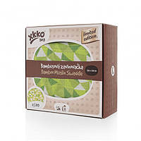 """Эксклюзивные бамбуковые пеленки """"Зеленые треугольники"""" 120 х 120"""