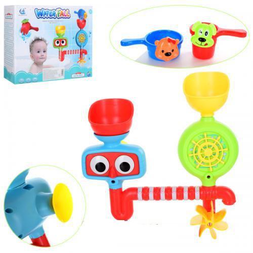 Набор для ванной игрушечный Водопад, игрушка для купания 9905