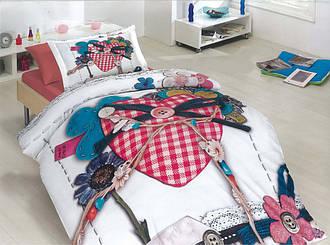 Полуторный комплект постельного белья 150х220из бязи Голд Подарок (1.0)