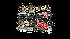 Ремкомплект тормозной системы ось SAF