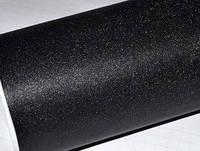 Пленка для тонировки фар Алмазная крошка темно черная, фото 1