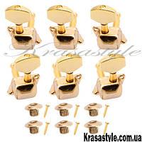 Комплект золотых гитарных колков