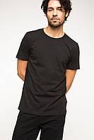 Черная мужская футболка De Facto / Де Факто, фото 1