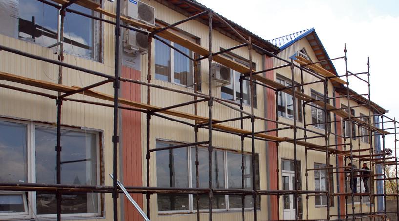 Фасад производственного здания