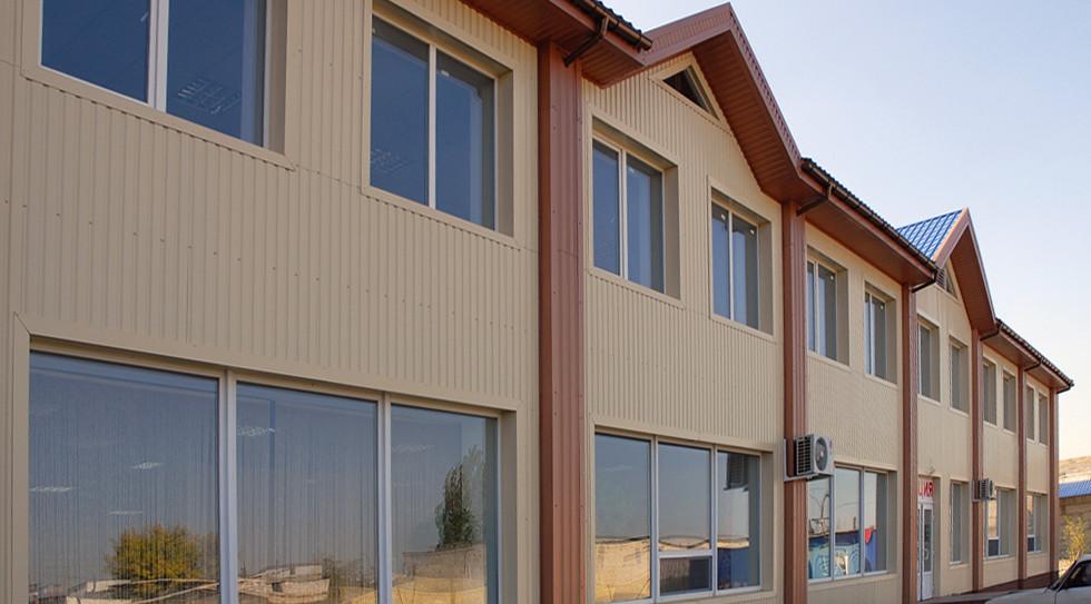 Фасад производственного здания 1