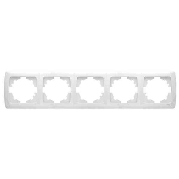 Рамка 5-я горизонтальная белая ViKO Carmen 90571105