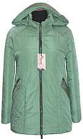 Куртка женская весенняя ЛД 80 Мята (46-62)