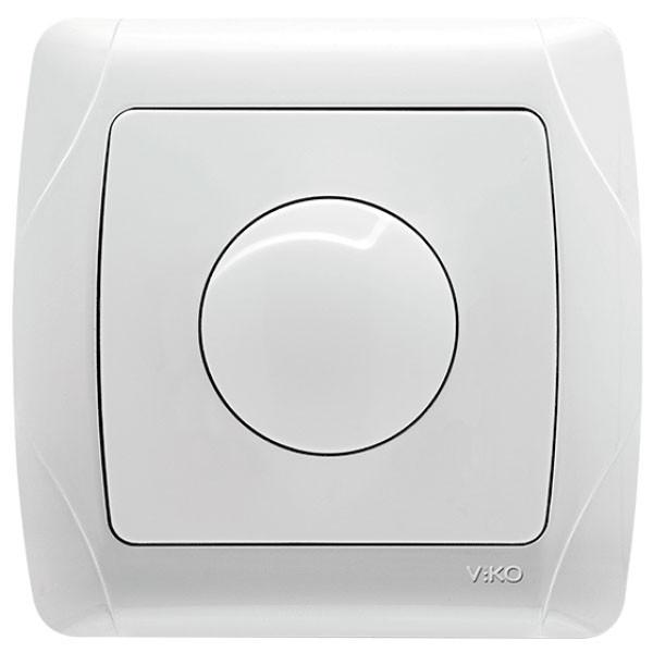 Светорегулятор (диммер) ViKO Carmen 600Вт Белый 90561020