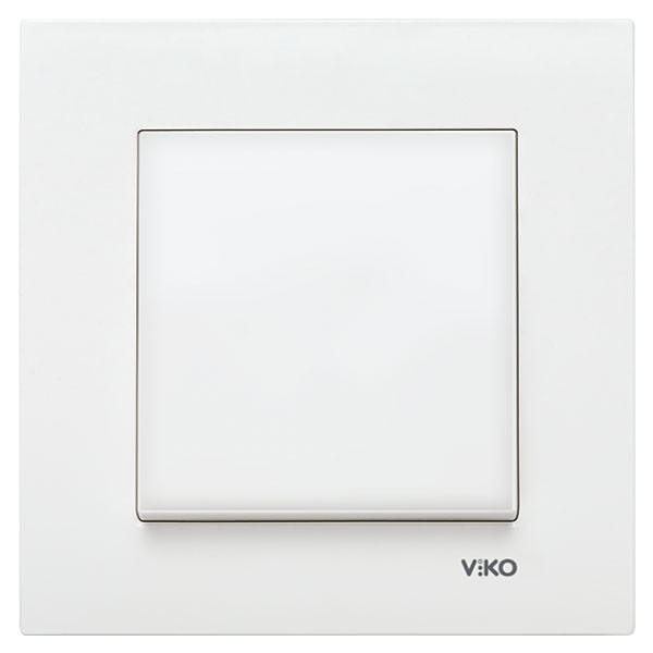 Выключатель VIKO Karre Белый 90960001