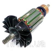 Якорь перфоратора горизонтального типа Bosch 2-24D ( 144*35 7-з лево)