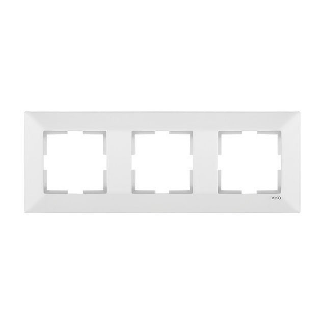 Рамка 3-я горизонтальная белый Viko Meridian 90979003-WH