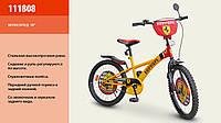 "Велосипед 2-х олес 18'' ""Ferrari""со звонком,зеркалом,с подножкой /1/"