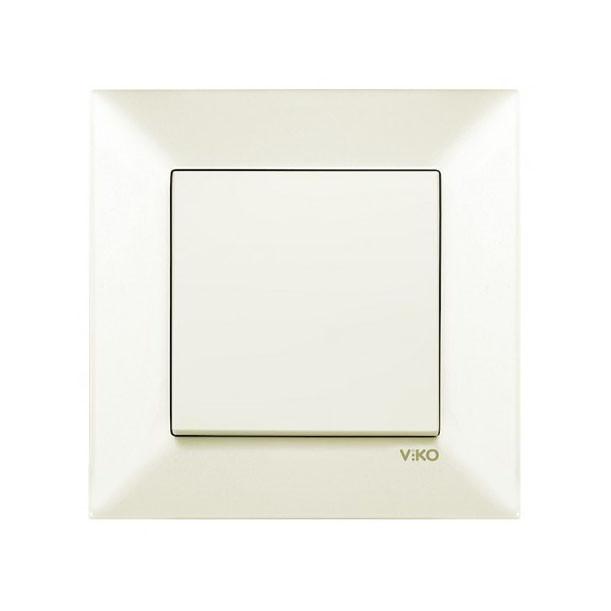 Выключатель 1 кл. крем Viko Meridian 90970201-WH