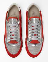Кроссовки  Brunello Cucinelli - Красные