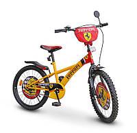 "Велосипед 2-х колес 20'' ""Ferrari""со звонком,зеркалом,с подножкой /1/"