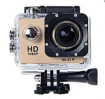 Водонепроницаемая спортивная экшн камера SJ4000 A7. Для съемки в экстремальных условиях. Дешево. Код: КГ3417