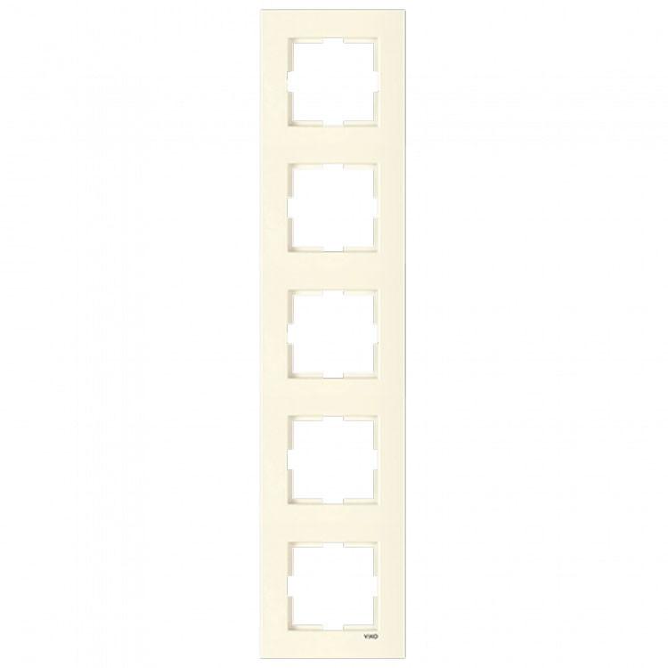 Рамка 5-я вертикальная крем ViKO Karre 90960234