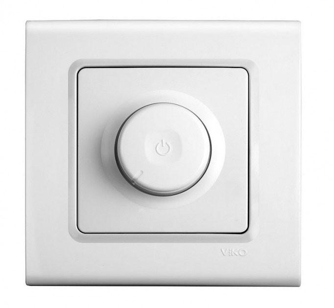 Светорегулятор (диммер) VIKO Linnera 600W RL Белый 90400020