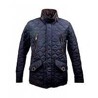 Мужская демисезонная куртка Danstar К-55 (50) темно-синяя