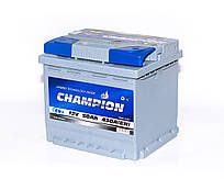 Аккумулятор автомобильный 6СТ-50Aч: 430A. Champion