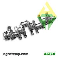 Вал коленчатый двигателя ЯМЗ-236 236-1005009 б/у