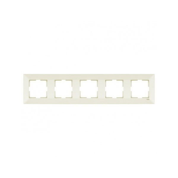 Рамка 5-я горизонтальная крем Viko Meridian 90979015-WH