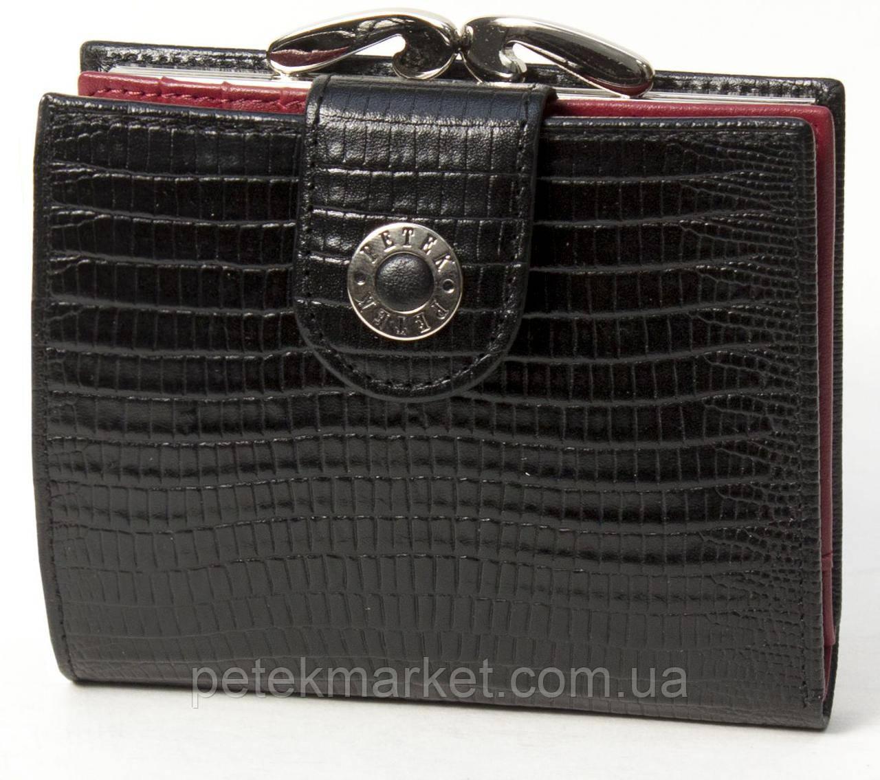 36001d504ffb Женское Портмоне PETEK 336/1 Черно-красный (336/1-041+4000-A31) — в ...