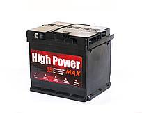 Аккумулятор автомобильный 6СТ- 52 Ач; 480A. High Power Max