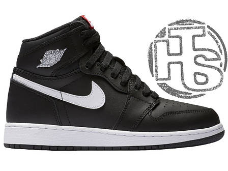 "Мужские кроссовки Air Jordan 1 Retro High OG ""Yin Yang"" Black/White 575441-011, фото 2"