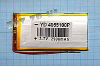 Аккумулятор 4*55*100мм 2900mAh универсальный