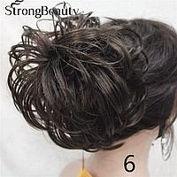 Пучок из волос различных расцветок