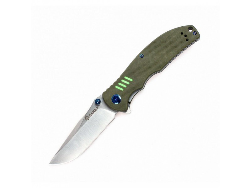 Нож Ganzo G7511 (зеленый, черный, оранжевый)