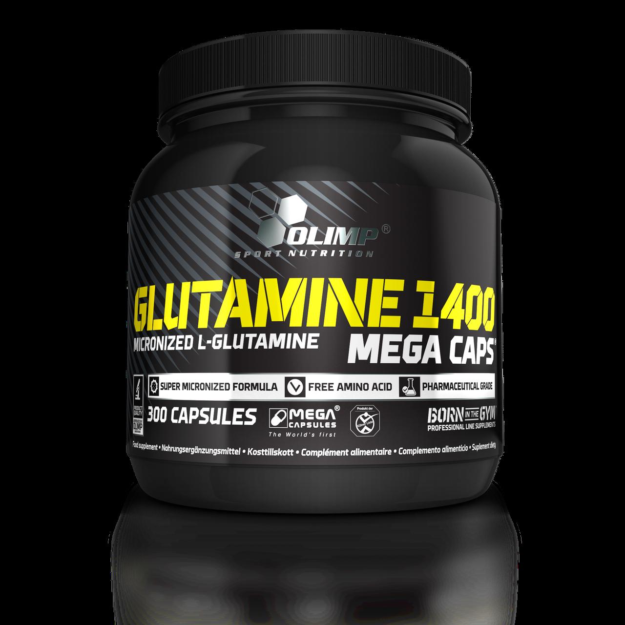 Глютамин Olimp L-Glutamine Mega Caps  300 caps