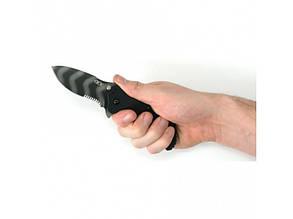 Нож Zero Tolerance folder g-10 black/tiger stripe, serrated, 0350TSST, фото 2