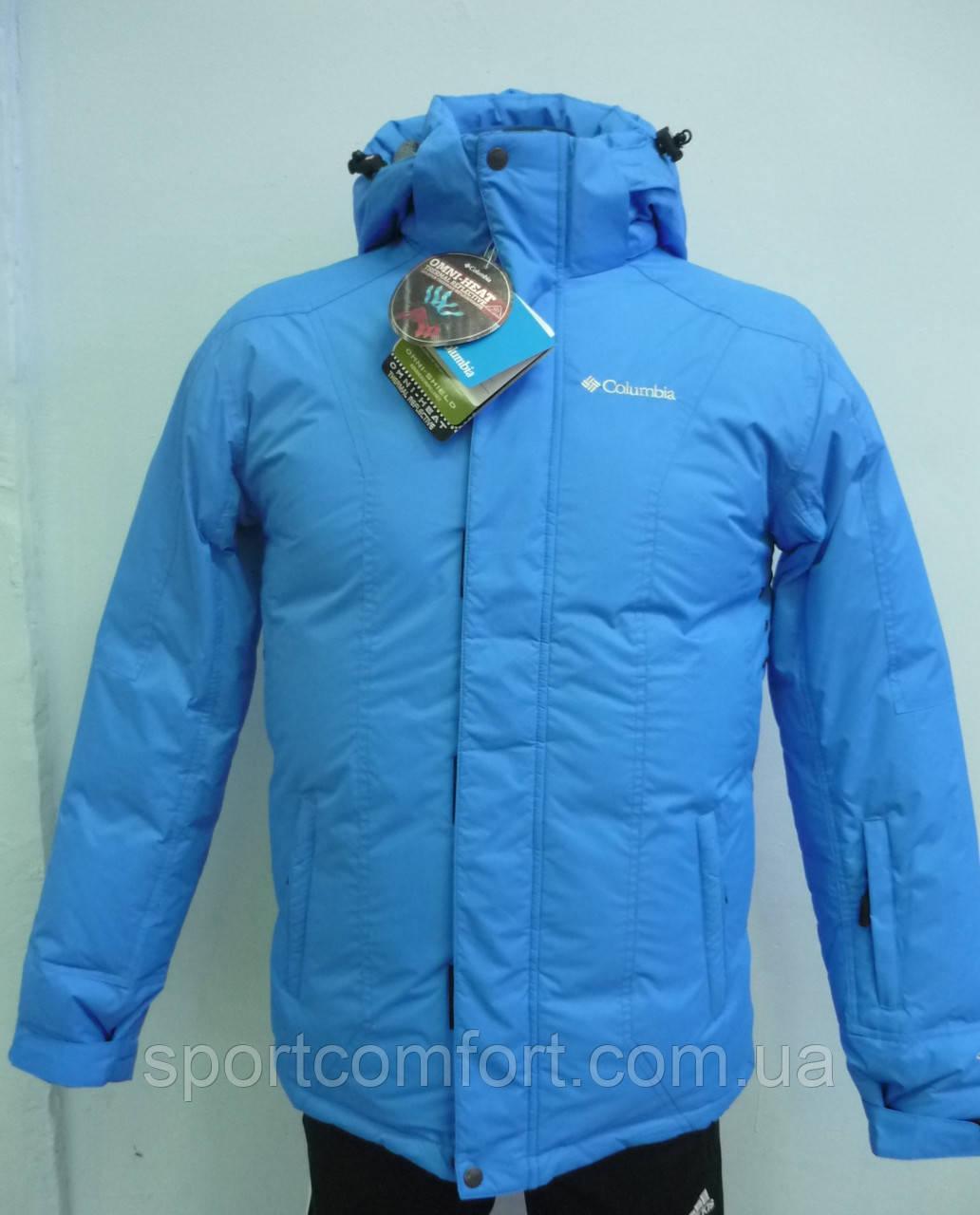 16c9f1cb36cf Пуховик Columbia мужской голубой 923, цена 2 190 грн., купить в ...