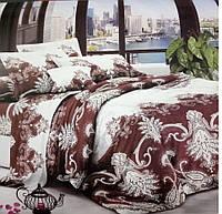 Двуспальный набор постельного белья Ранфорс 151